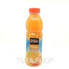 Напиток PIKO Pulpy сокосодержащий Апельсин, 0.5л