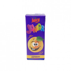 Нектар Juicy Junior абрикос с мякотью, 0.2л