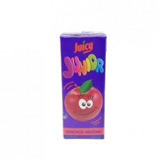 Нектар Juicy Junior красное яблоко с мякотью, 0.2л