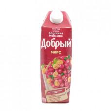 Морс Добрый брусника-морошка, 1л