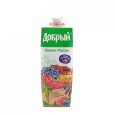 Напиток Добрый сокосодержащий ягоды с медом и шалфеем, 1л