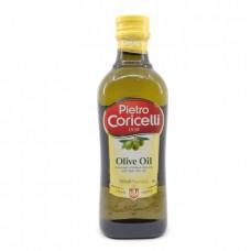 Масло Pietro Coricelli оливковое рафинированное с нерафинированным, 500мл