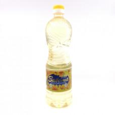 Масло Забота подсолнечное рафинированное, 0.9л