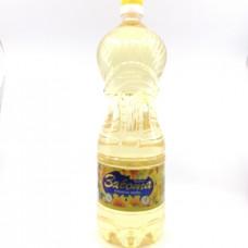 Масло Забота подсолнечное рафинированное,1.8л