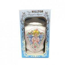 Подарочный набор Чай Hilltop Подарок Цейлона с чайницей черный, 100г