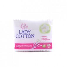 Палочки ватные Lady Cotton, 100шт.