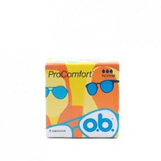 Тампоны o.b. ProComfort Normal, 8шт