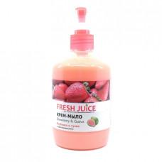Мыло жидкое Fresh Juice Клубника и гуава, 460мл