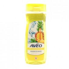 Гель для душа Aveo ананас и мята, 300мл