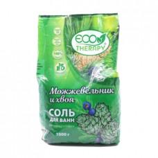 Соль для ванн Eco Terapy релаксирующая Можжевельник и хвоя, 1000г