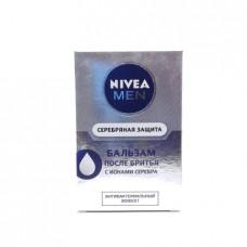 Бальзам п/бритья Nivea серебряная защита, 100мл