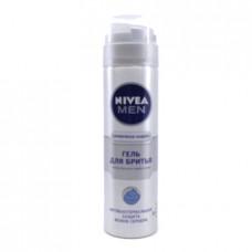 Гель д/бритья Nivea серебряная защита, 200мл