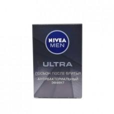 Лосьон  Nivea Ultra Men  п/бритья Антибак. эффект, 100мл