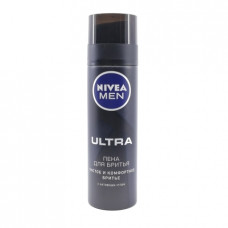 Пена для бритья  NIvea Ultra Men, 200мл