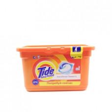 Капсулы для стирки Tide 3в1 pods Альпийская свежесть, 12х24.8г