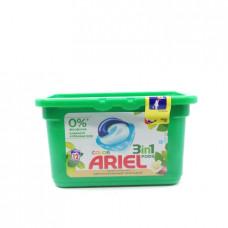 Капсулы Ariel Color для стирки с маслом Ши, 12х27г