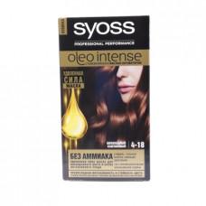 Краска для волос Syoss 4-18 Шоколадный каштановый