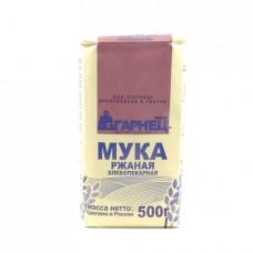 Мука Гарнец ржаная хлебопекарная обдирная, 500 гр