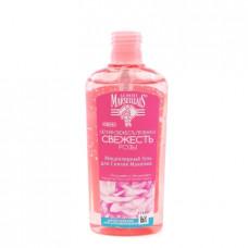 Гель мицеллярный Marseiliais для снятия макияжа Свежесть розы, 200мл