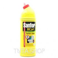 Sanfor WC гель - средство для мытья унитазов и сантехники