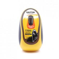 Губка для обуви Salton с дозатором для гладкой кожи, черный