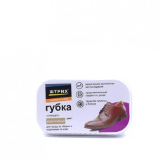 Губка для обуви Штрих Стандарт, коричневый