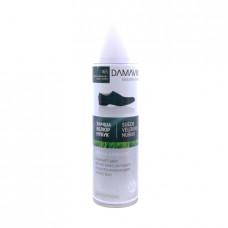Краска-аэрозоль для обуви Damavik для замши велюра и нубука, темно-зеленый, 250мл