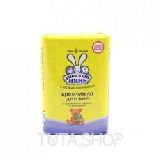 Крем-мыло детское Ушастый нянь с оливковым маслом/ромашкой, 90гр