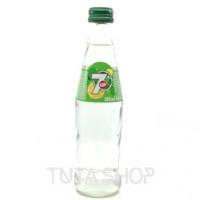 Напиток 7 UP газированный Лимон-лайм, 0.25л