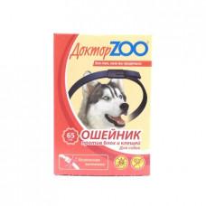 Ошейник Доктор ZOO для собак против блох и клещей, 65см