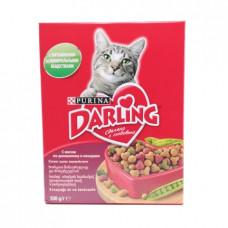 Корм для кошек Darling с мясом и овощами, 300г