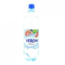 Вода Veroni газированная грейпфрут, 1л