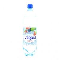 Вода Veroni газированная клубника, 1л