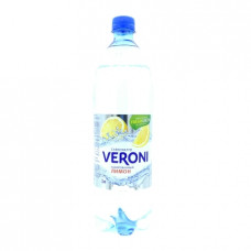 Вода Veroni газированная лимон, 1л