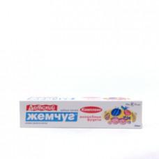 Зубная паста  для детей Детский жемчуг Волшебные фрукты, 50мл