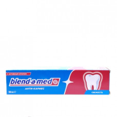 Зубная паста Blend-a-med Анти-Кариес Кальци-стат свежесть, 100мл