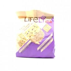 Крекер LifeLy с кунжутом и семенами льна, 180г