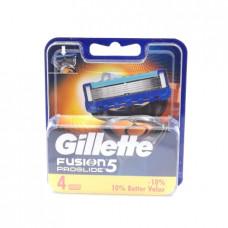 Кассеты сменные Gillette Fusion Proglide, 4шт.