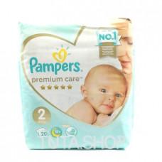 Подгузники Pampers Premium Care, 4-8кг 20шт.