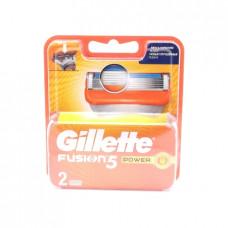 Кассеты сменные для бритья Gillette Fusion5 Power, 2шт
