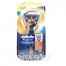 Бритва с 2-мя сменными кассетами Gillette Fusion ProGlide Flexball, 1шт.