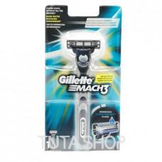 Бритва со сменной кассетой Gillette Mach3, 1шт