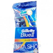 Бритва одноразовая Gillette Blue II Plus, 5шт