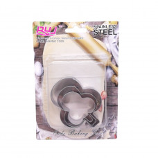 Набор форм для печенья Steel А75,76,77