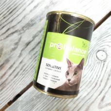 Корм Probalance Sensetive для кошек с чувствит пищеварением ж/б 415 гр