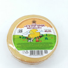 Сыр Сулугуни Кезский мягкий копченый 40% 300 гр