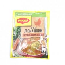 Бульон Maggi Домашний с курицей, овощами и зеленью, 100 гр