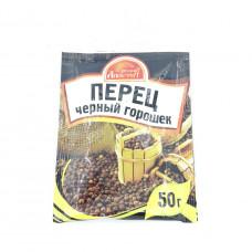 Перец Русский Аппетит черный горошек, 50г