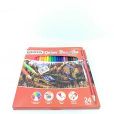Карандаши цветные ERAS 2008-24  24шт