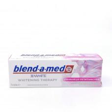 Зубная паста Blend-a-med 3D white отбеливание для чувствительных зубов 75 мл